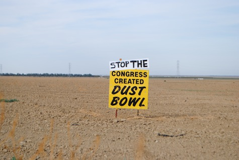 Stop The Congress Created Dust Bowl