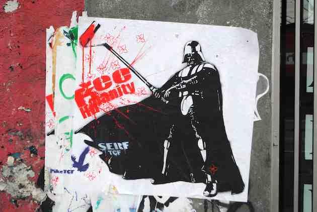 Darth Vader Street Art