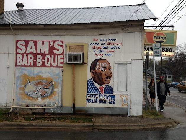 MLK Graffiti